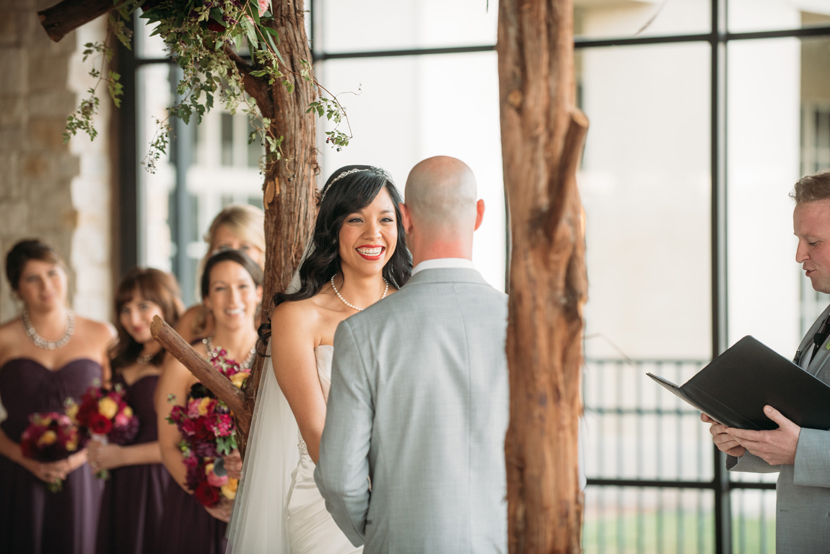 decorative floral chuppah