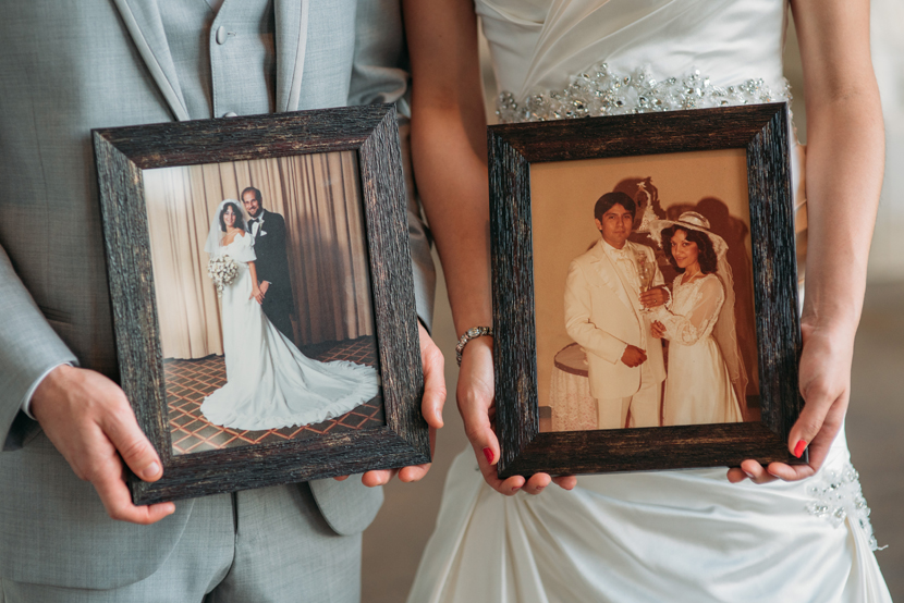 couples incorporating family history into their day