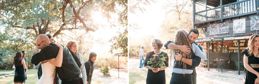 colorful austin wedding