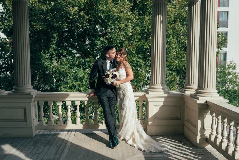 wedding day portraits at hotel ella austin