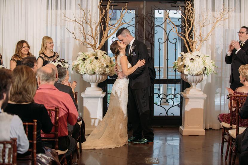 hotel ella ballroom ceremony