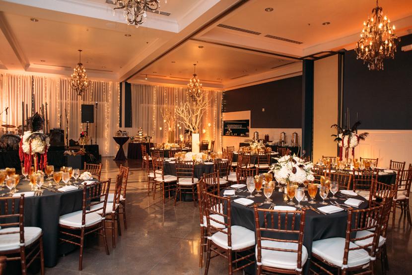 hotel ella reception space