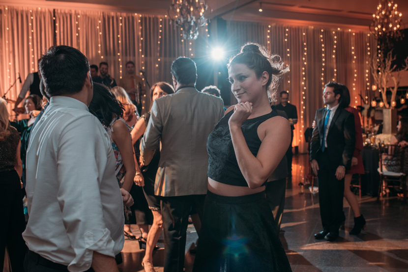 indoor wedding reception shots