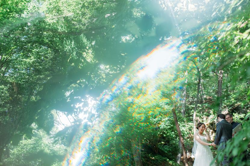 intimate backyard wedding photographer