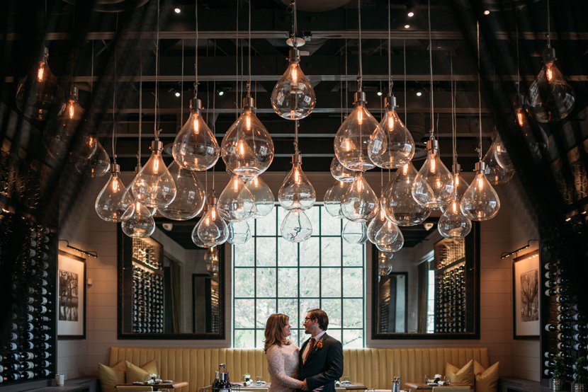 intimate restaurant wedding austin