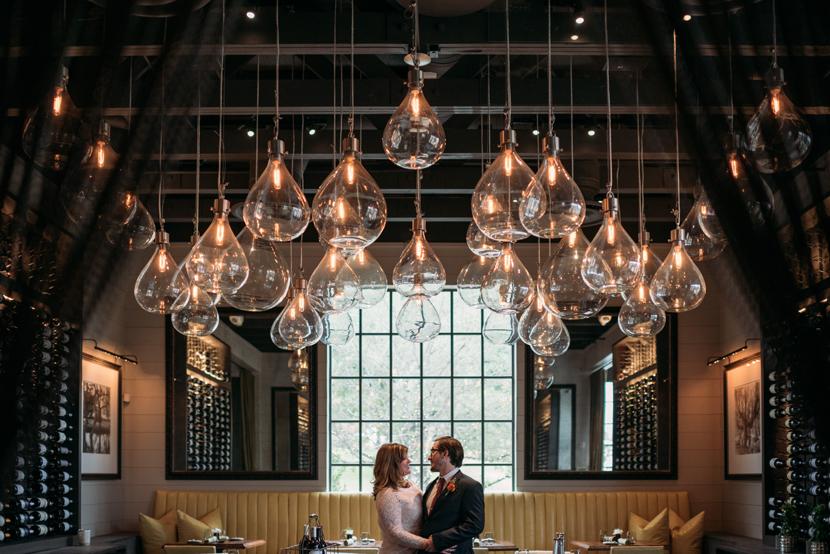 intimate restaurant wedding austin