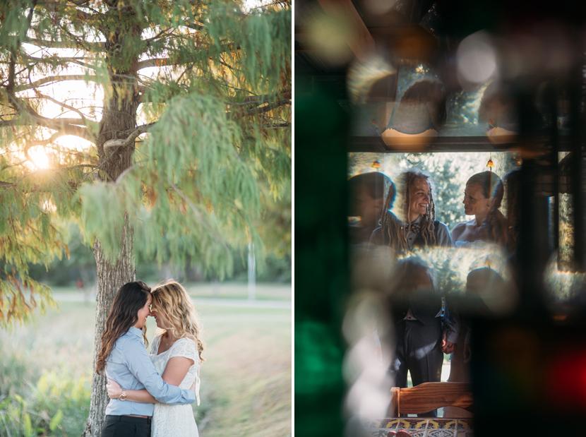 lesbian wedding in austin