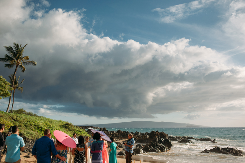 maui beach wedding photos