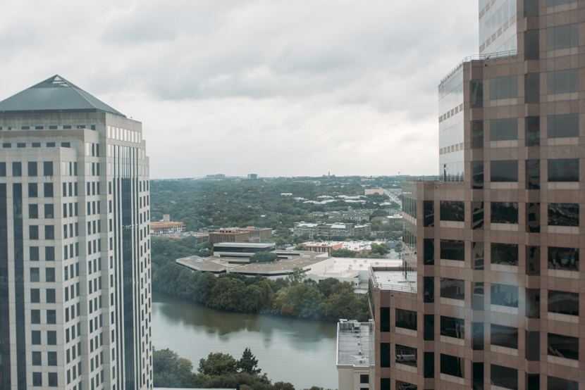 view from austin downtown marriott