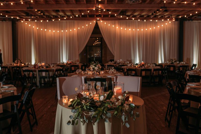 indoor wedding reception austin