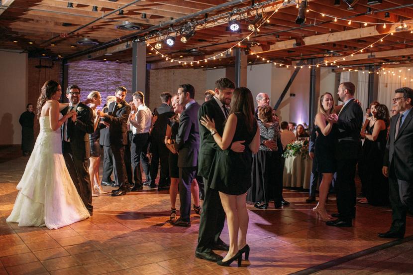 led wedding dancing