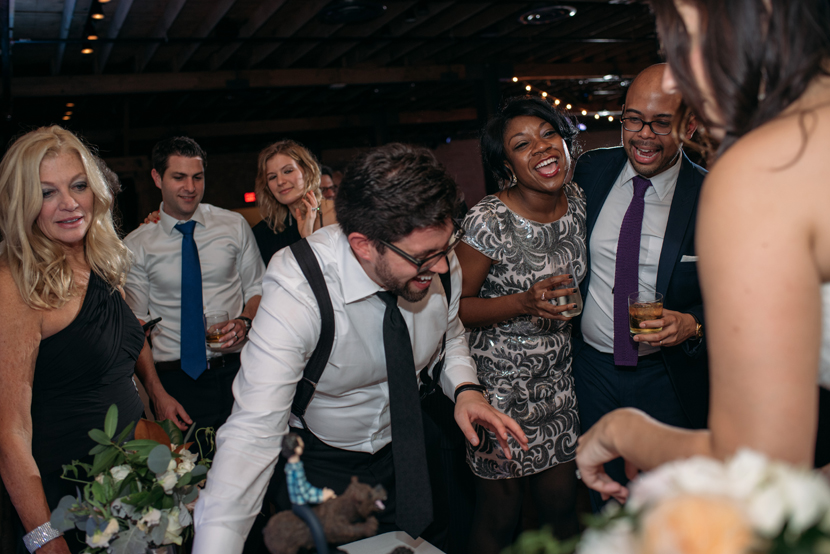 austin downtown wedding reception