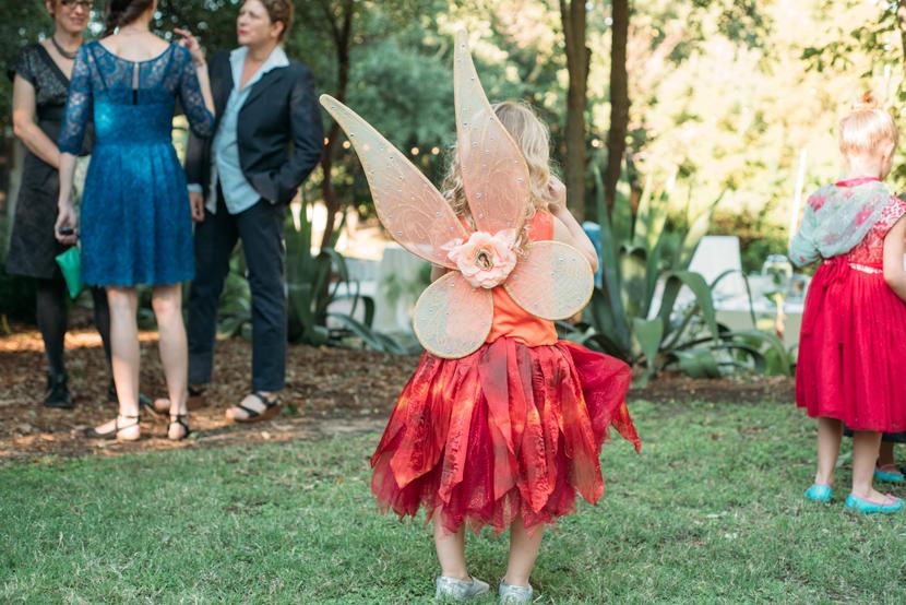faerie flower girl