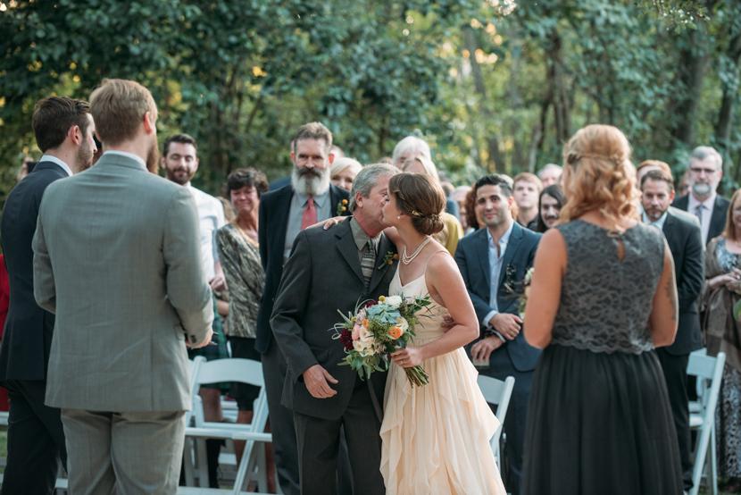 emotional parents at weddings