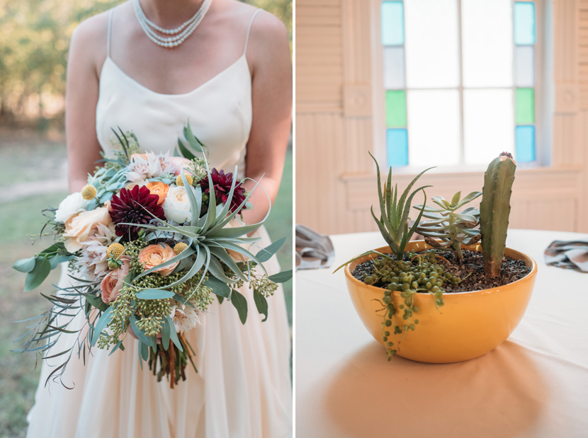 modern inspired wedding