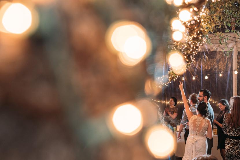 artistic wedding reception photos
