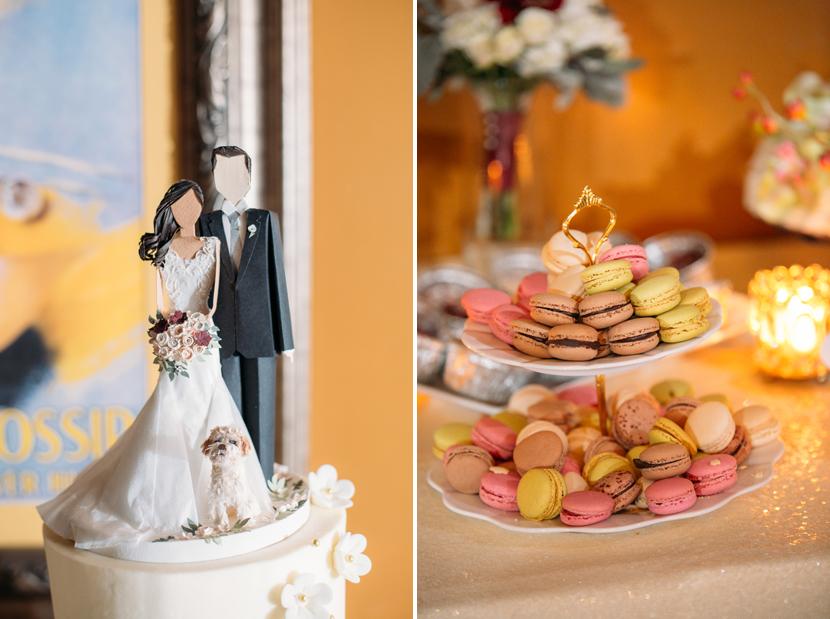 macaron wedding dessert
