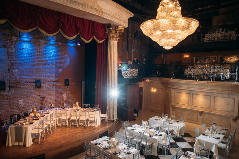 wedding receptions in places with chandeliers