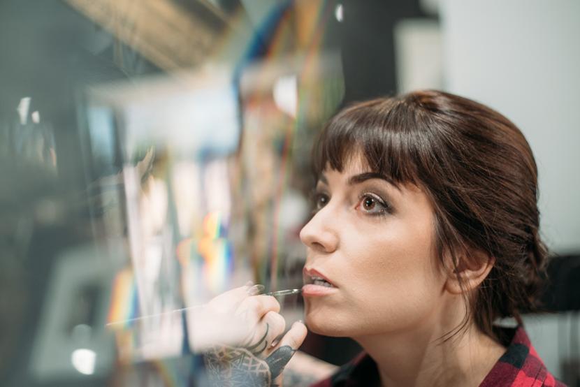 red stella salon makeup service