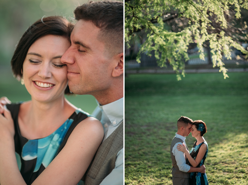 sweet austin engagement photos