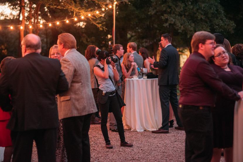 cocktail hour austin wedding photographer