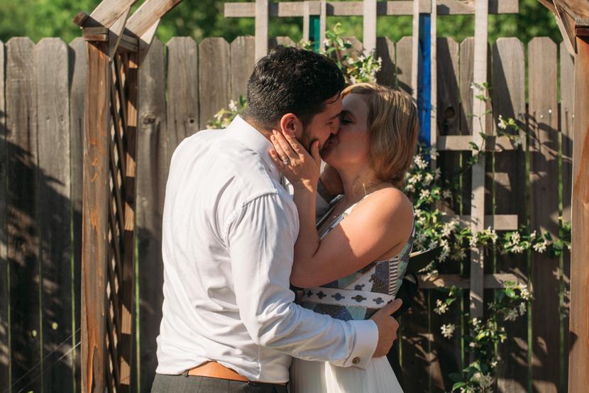 austin backyard wedding photographer
