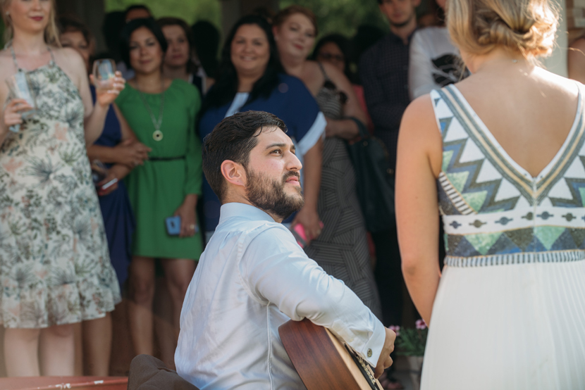 guitar playing grooms