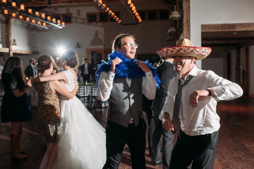 fun weddings with fun people