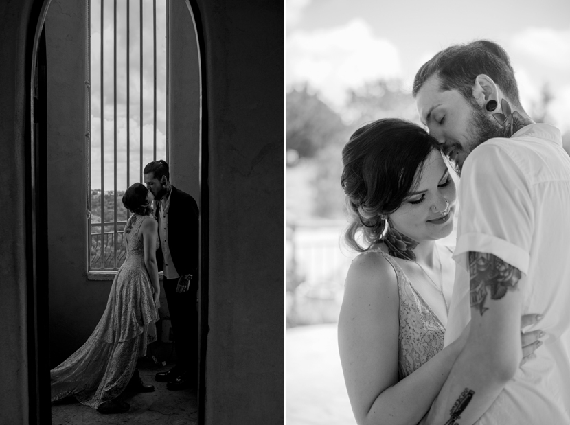 artistic elopement photos