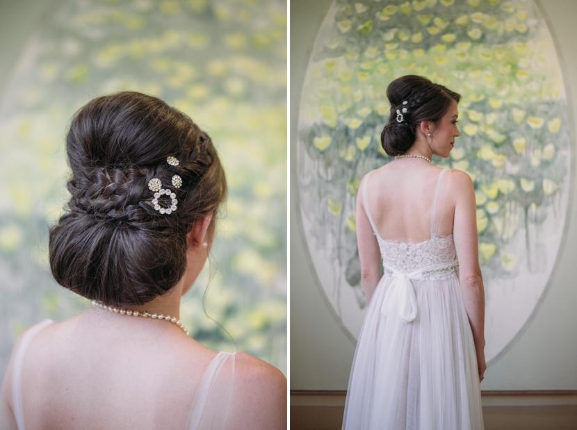 classic modern austin bride