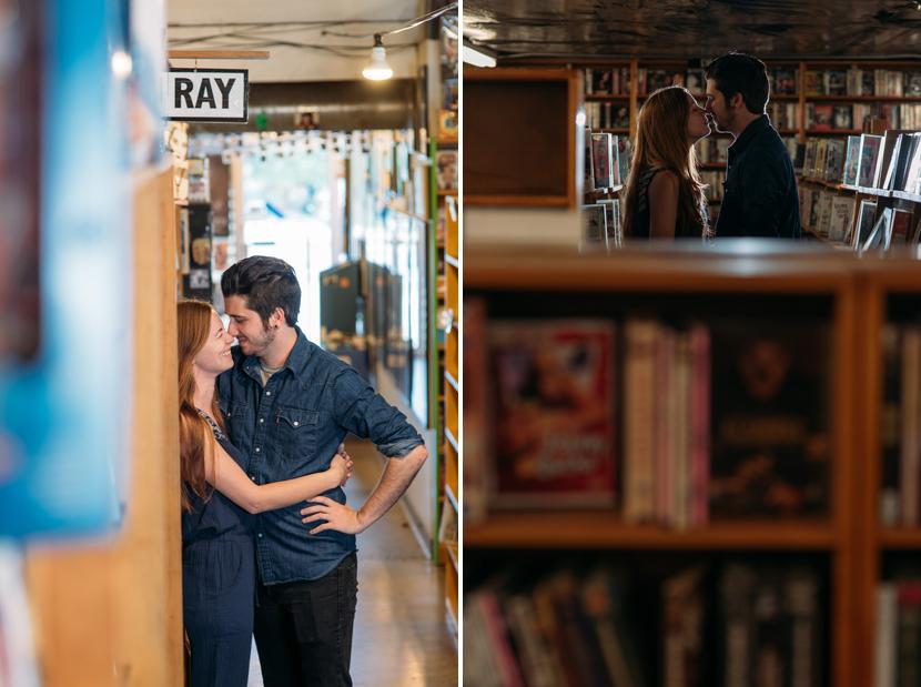 indoor austin engagement photos