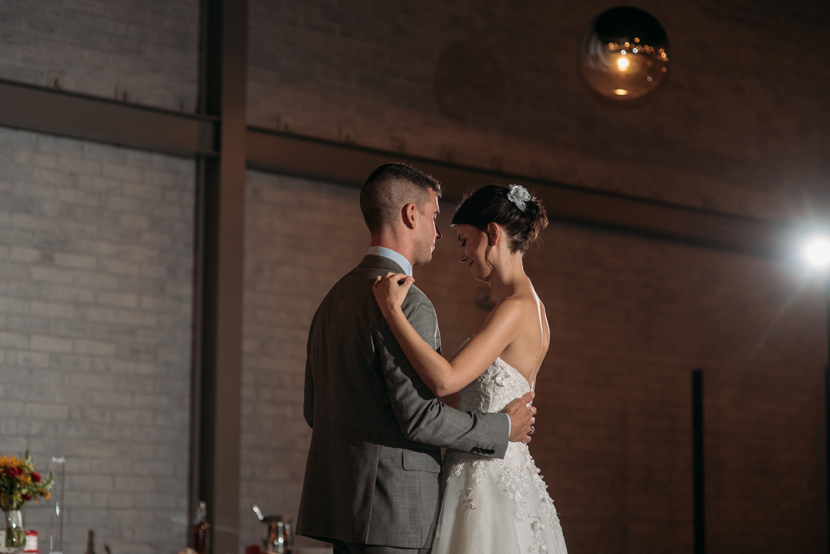 sweet first dance bride groom