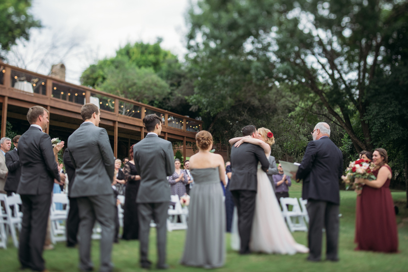 riverside wedding ceremony