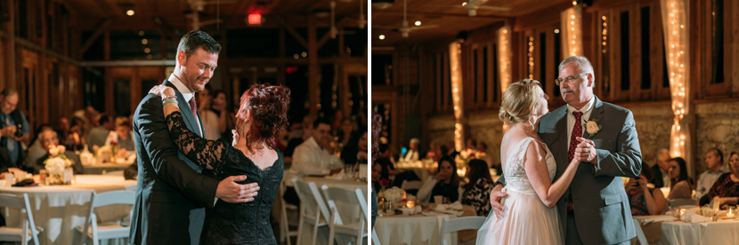 sweet parent dances at weddings