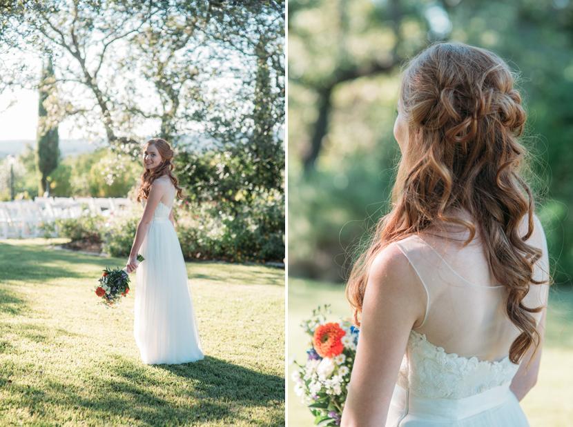 lone star bloom wedding bouquet