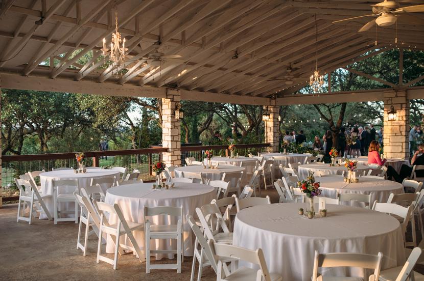 outdoor wedding in austin tx
