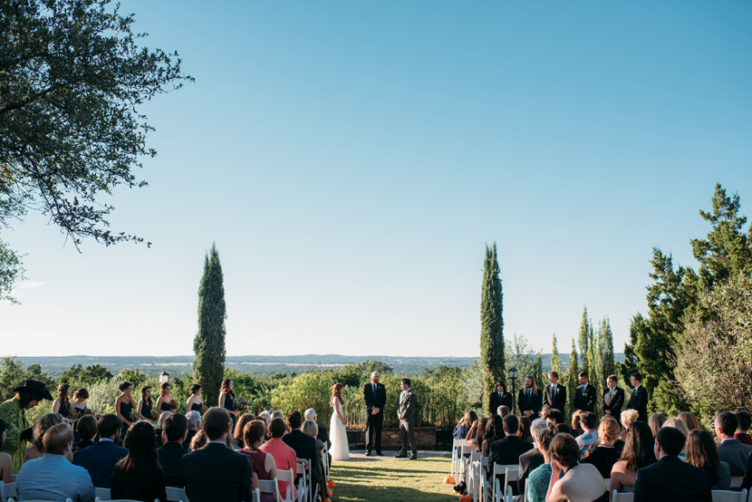 the lookout wedding ceremony