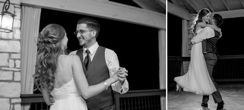 first dance at the lookout