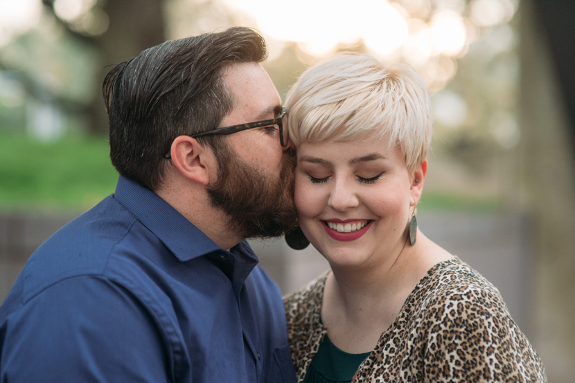 sweet engagement photos texas