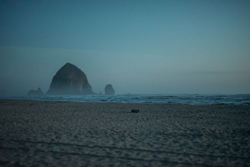 cannon beach night
