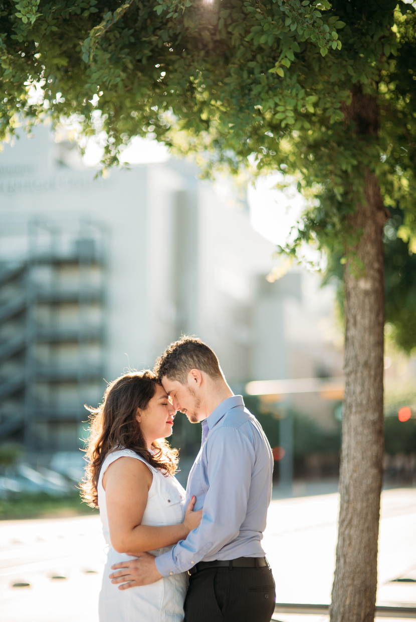 downtown austin engagement