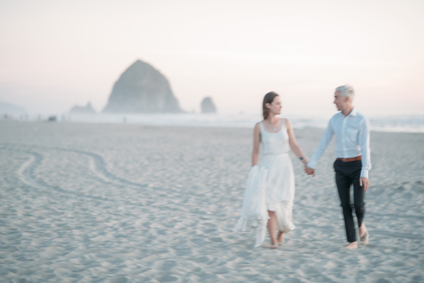 haystack rock wedding photographer