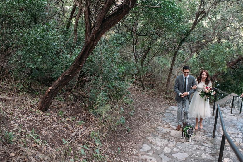 mt bonnell wedding