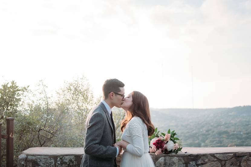 mount bonnell elopement