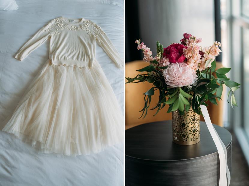 two piece wedding set