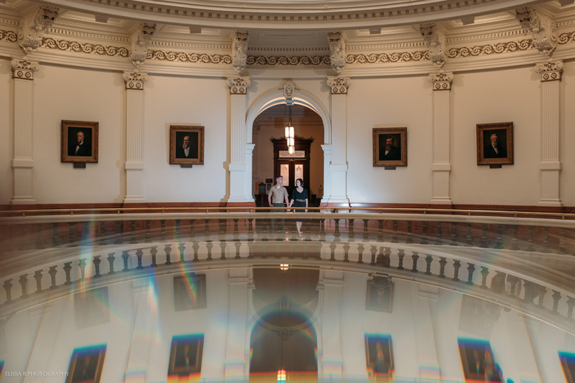 texas capitol engagement photos