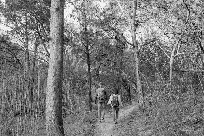 barton creek greenbelt engagement pictures