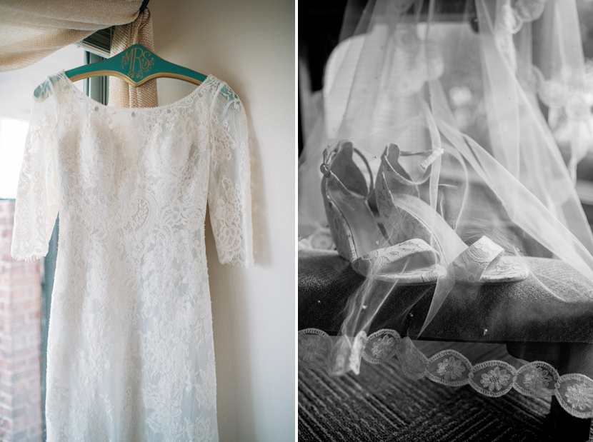 lacy wedding clothes