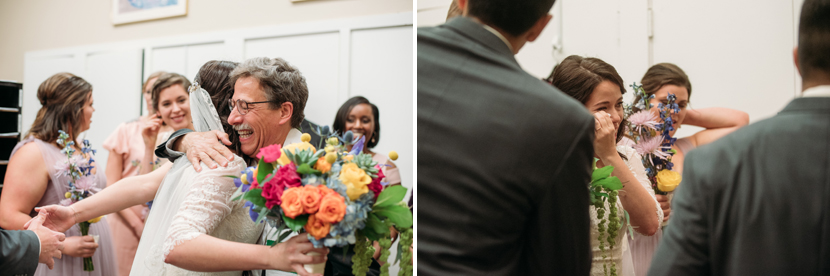 happy wedding reactions