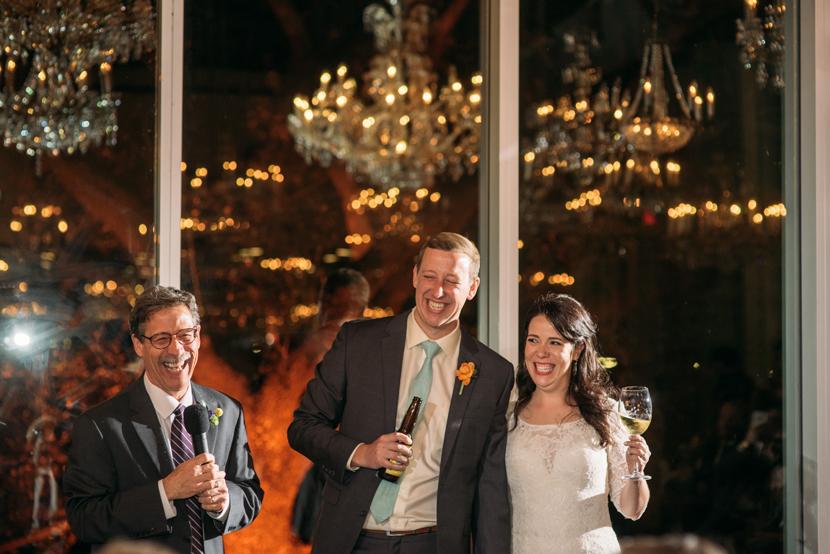 wedding toasts at dunlavy houston
